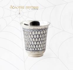 Серебряный стакан Кубачи