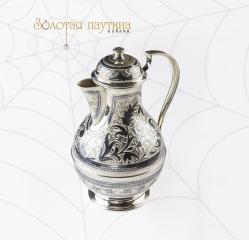 Набор для питья серебряный